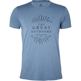 North Bend Vertical T-Shirt Herren blue bay